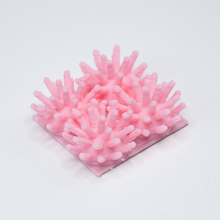 Load image into Gallery viewer, A pink Sea Urchin Quad 3D sticker by Styklet.