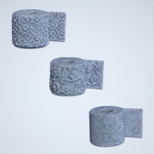 Load image into Gallery viewer, Toilet Paper 3D Stickers -  Set of 3 Textures