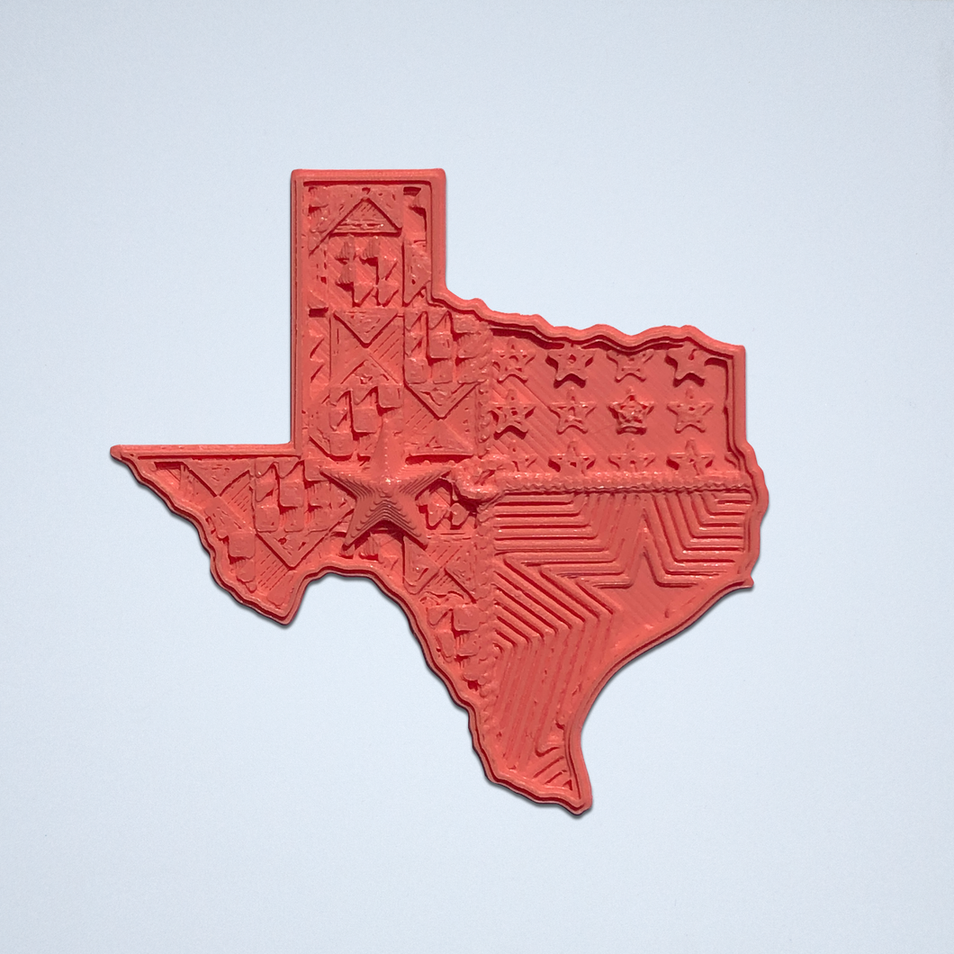 Texas Lone Star Sticker