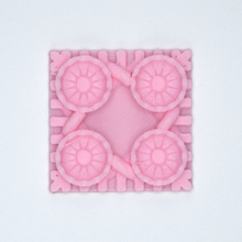 Load image into Gallery viewer, A pink Victorian Blossom 3D sticker by Styklet.