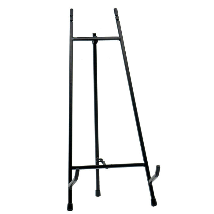 Red Co. Modern Metal Tripod Plate Stand and Art Holder Easel in Black - 15""