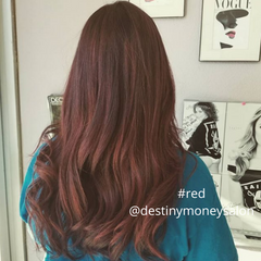 red hair by destiny