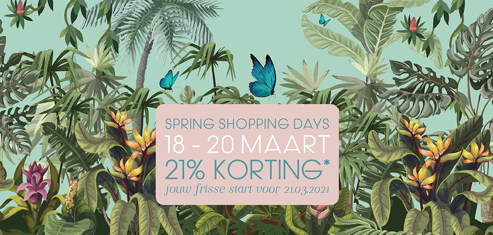 RainPharma Spring Shopping Days 18, 19, 20 maar banner