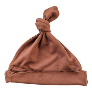 Rust Newborn Knot Hat