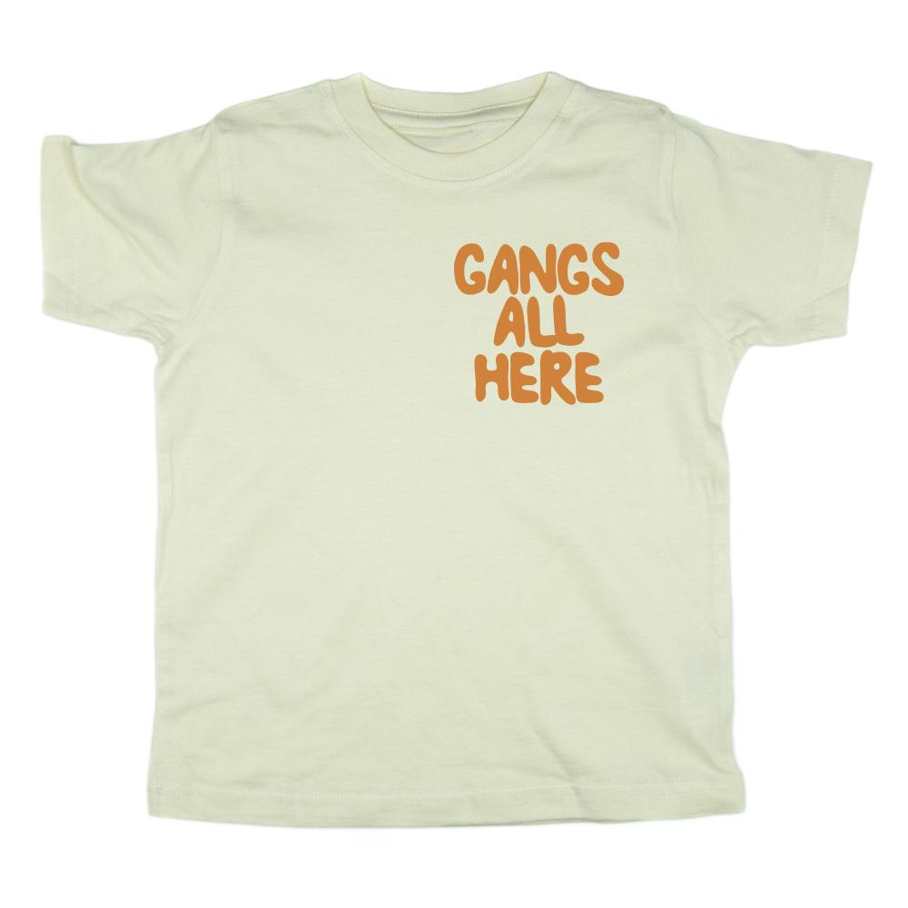 Gangs All Here (Cream) Tee