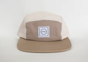 Sand Cotton Five-Panel Hat