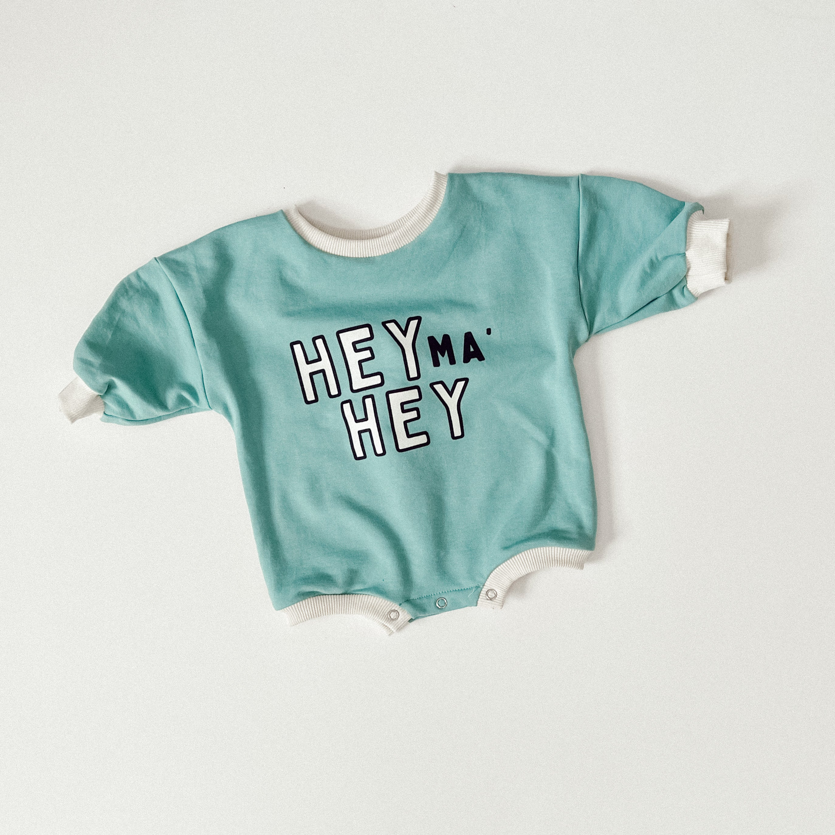 """Hey Ma' Hey"" Sweater Romper"