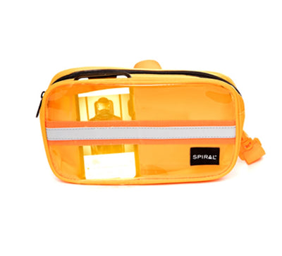 Orange Window Transparent - SP Crossbody