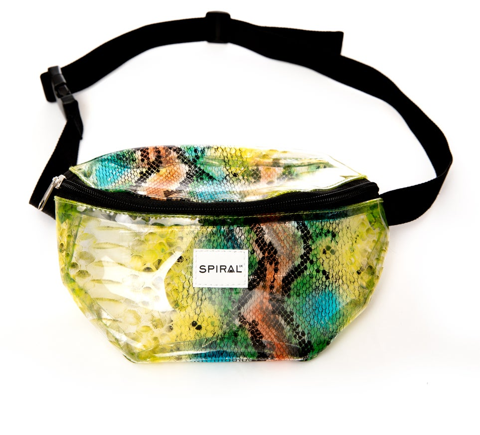 Snake Transparent - Bum Bag