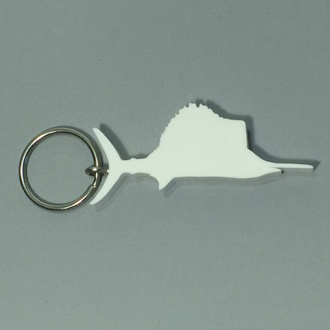 Sailfish Fish Keychain