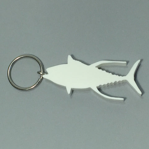 Yellowfin Tuna Fish Keychain