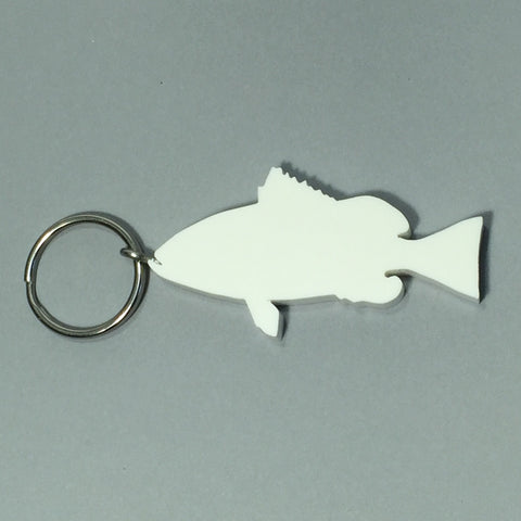 Grouper Fish Keychain