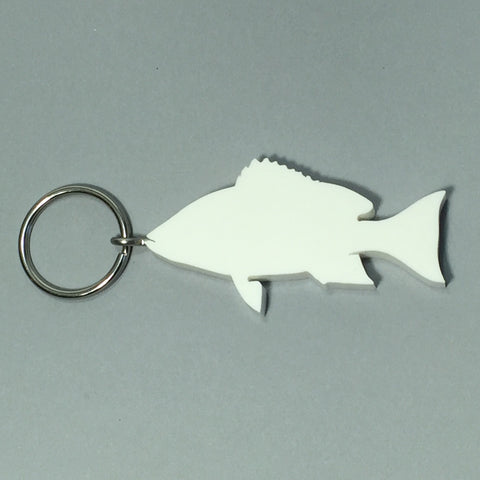 Red Snapper Fish Keychain