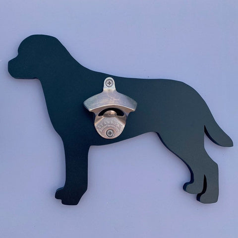Labrador Retriever Indoor Outdoor Wall Mount Bottle Opener