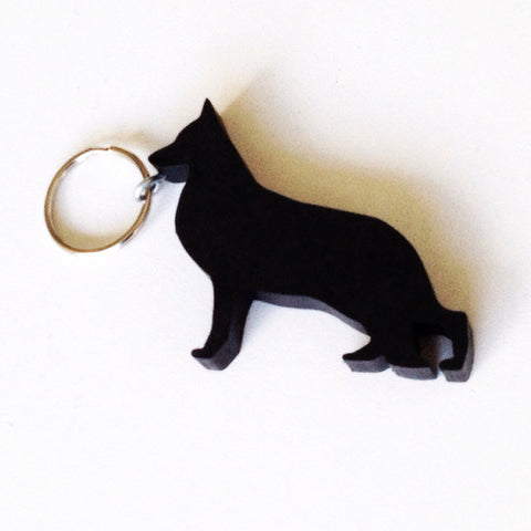 German Shepherd Dog Keychain