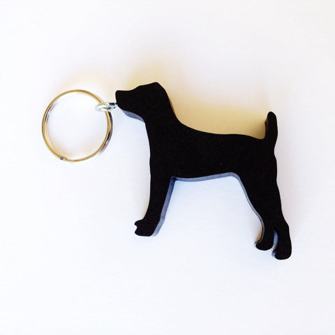 Jack Russell Dog Keychain