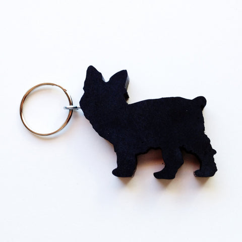 Yorkie Yorkshire Terrier Dog Keychain