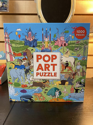 1000pc Puzzle - Pop Art