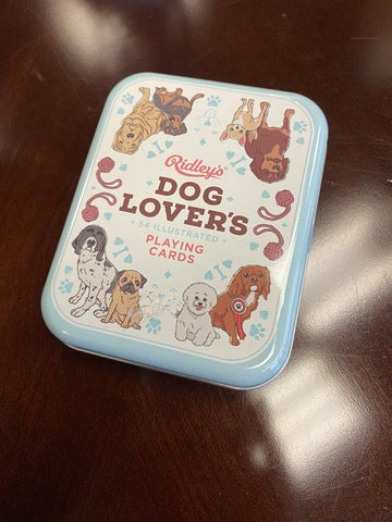 Playing Cards in Tin - Dog Lover