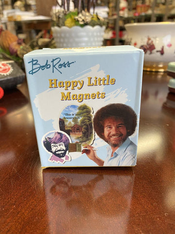 Bob Ross - Happy Little Magnets