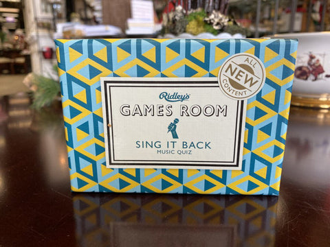 Boxed Game - Sing it Back
