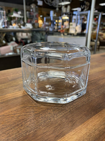 TIFFANY & CO. Eight Sided Crystal Container