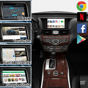 Infiniti Q70 2011-2020 Wireless Apple CarPlay & Android Auto (Advanced) - Nifty City