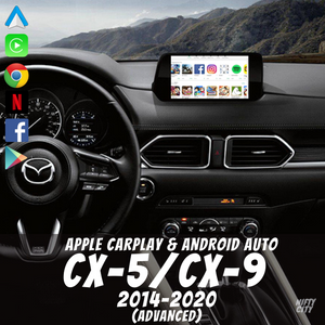 Porsche Boxster 2010-2018 Apple CarPlay & Android Auto OEM Integration - Nifty City