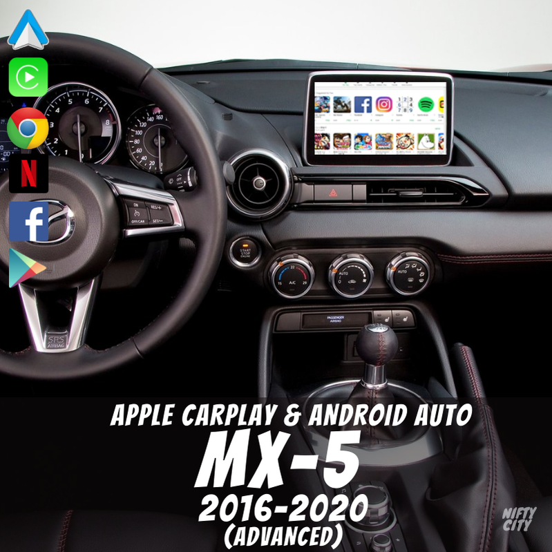 GMC Sierra 2014-2019 Apple CarPlay & Android Auto OEM Integration - Nifty City