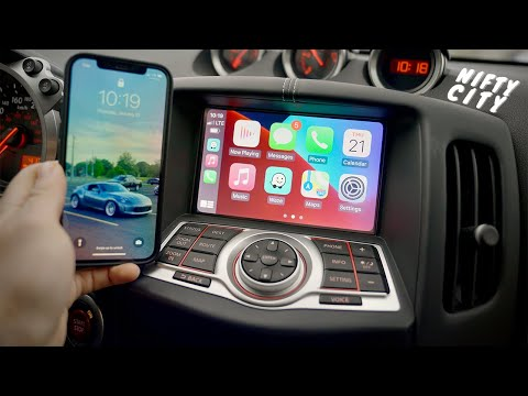 Nissan Skyline 370GT 2010-2014 Apple CarPlay & Android Auto Integration