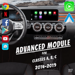 Load image into Gallery viewer, Mercedes A, B, C Class 2014 - 2019 Apple CarPlay & Android Auto - Nifty City