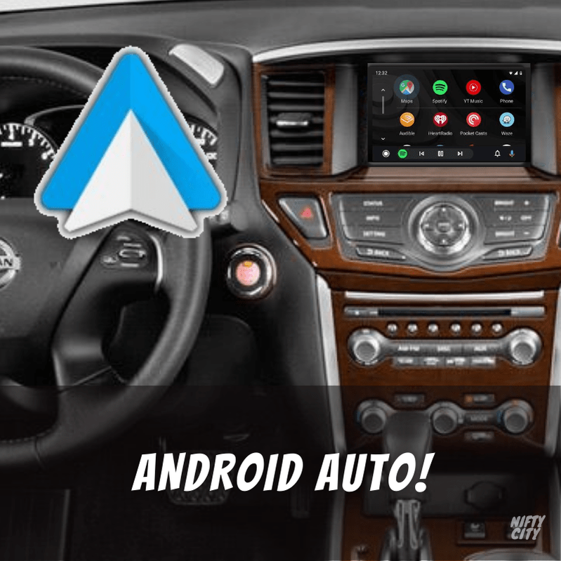 Nissan Pathfinder 2013-2020 Apple CarPlay & Android Auto (Advanced) - Nifty City
