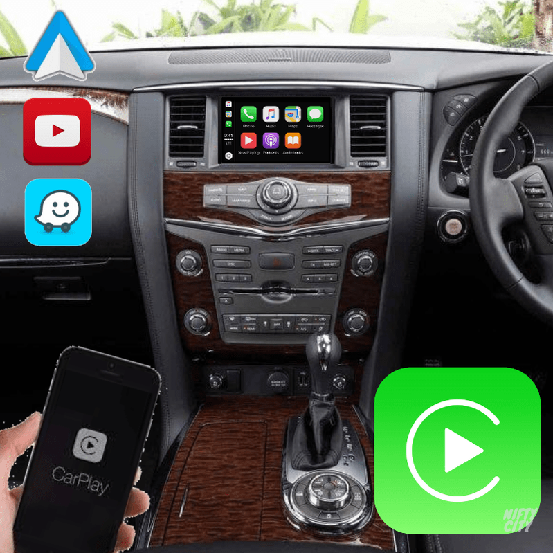 Nissan Patrol/Armada 2011-2020 Apple CarPlay & Android Auto (Advanced) - Nifty City