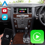 Load image into Gallery viewer, Nissan Patrol/Armada 2011-2020 Apple CarPlay & Android Auto (Advanced) - Nifty City