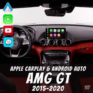 Mercedes AMG GT 2015-2020 Apple CarPlay & Android Auto OEM Integration - Nifty City