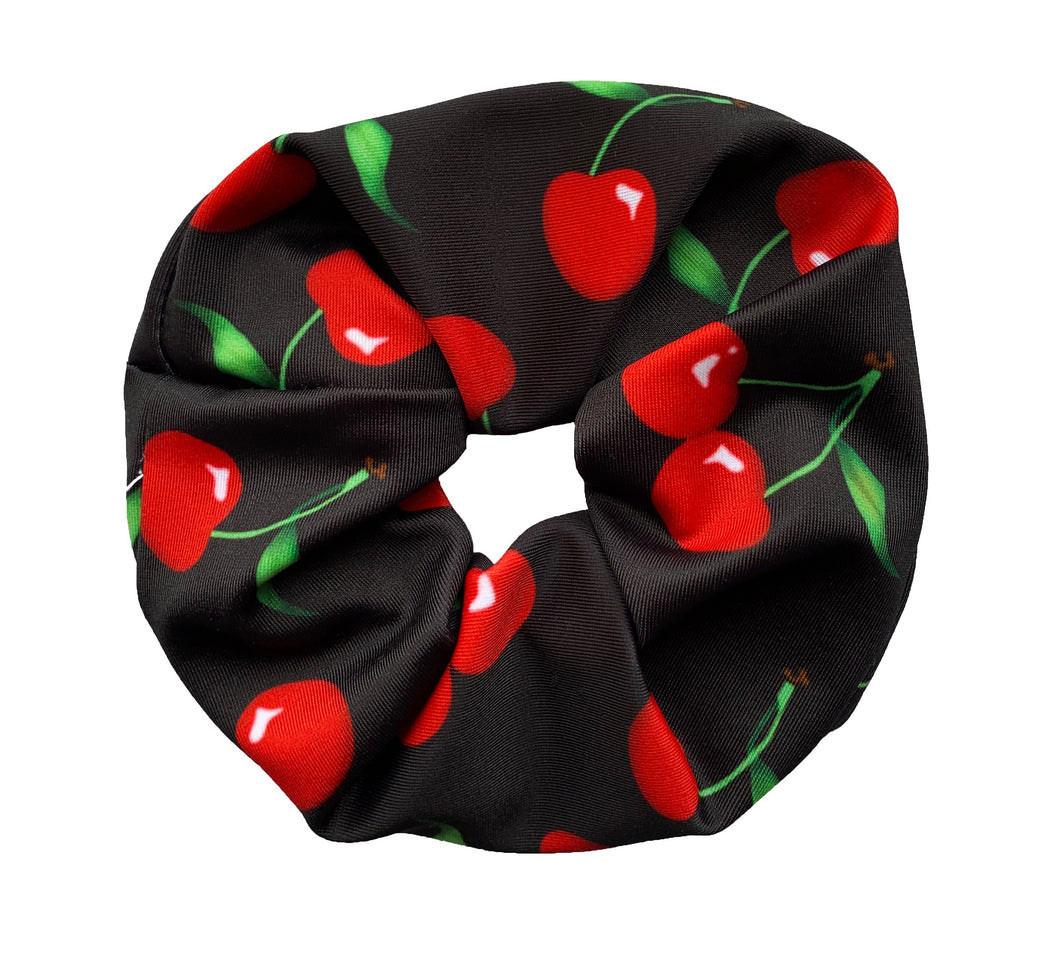 Cherry Bomb Scrunchie