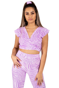 Zebra Spice 4-Way Top