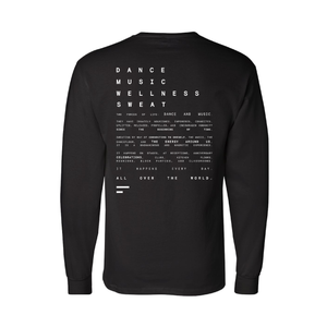 It's back! A top FS__Merch best-seller features the poetic mantra-manifesto of FORWARD__Space, crafted and written by Founder/CEO/Creative Director/Master Instructor Kristin Sudeikis.