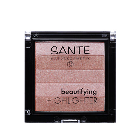 Highlighter en poudre - tons rosé - SANTE