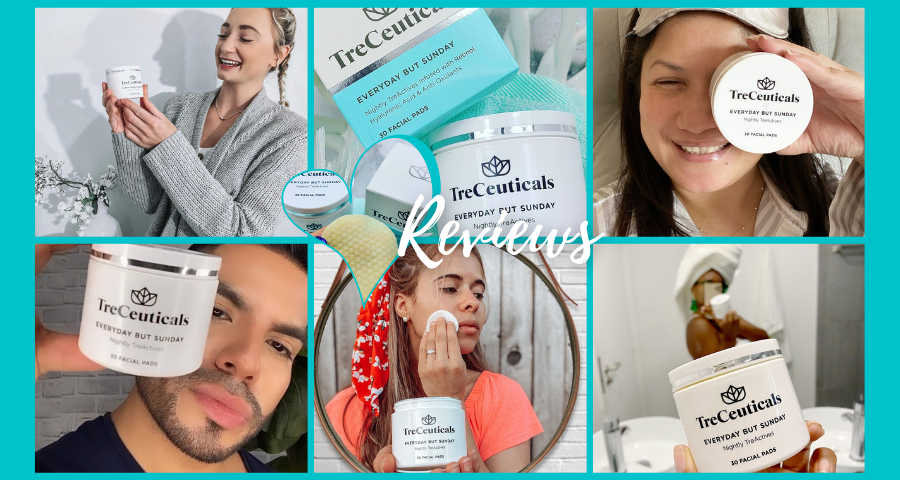 TreCeutical's Everyday But Sunday Facial Pad Reviews