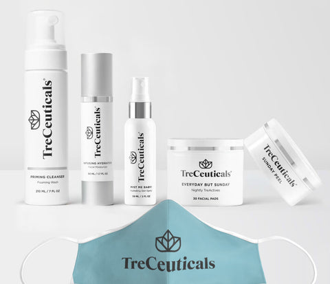 Best skincare products to treat maskne, by Treceuticals