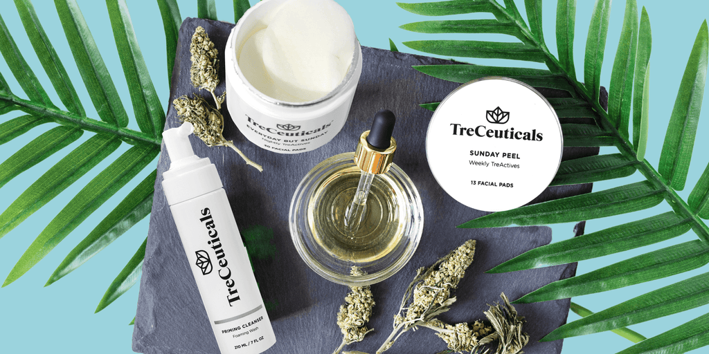 Can cbd oil get rid of acne by treceuticals