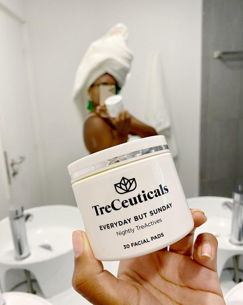 Treceutical everyday sunday peel review from Monbreezy