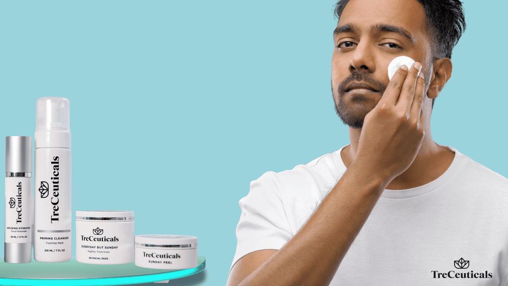 Best CBD skincare products for men By Treceuticals Skincare