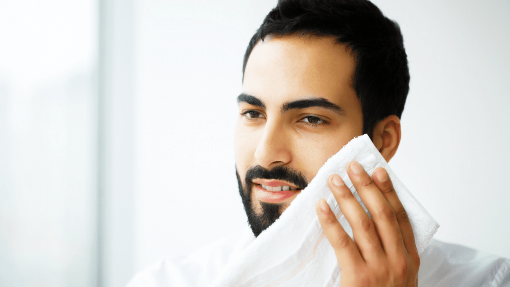 Why rubbing your face with a towel can cause premature aging By Treceuticals Skincare