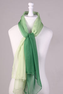 Scarf Degradê Verde