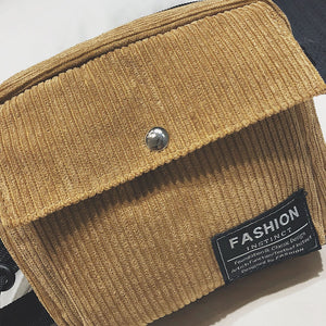 FASHION Corduroy Cross-Body