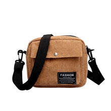 Load image into Gallery viewer, FASHION Corduroy Cross-Body