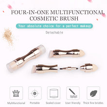 Load image into Gallery viewer, 4 In 1 Multi-functional Makeup Brush