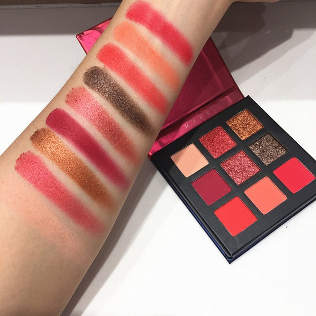 BEAUTY GLAZED 9 Color Pressed Palette